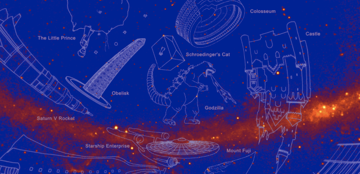 Godzilla gets his own constellation