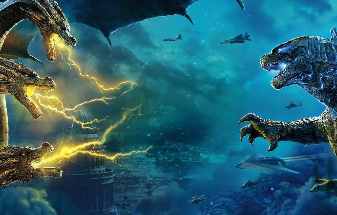 Godzilla: King of the Monsters movie launch in Spain on June 21st!